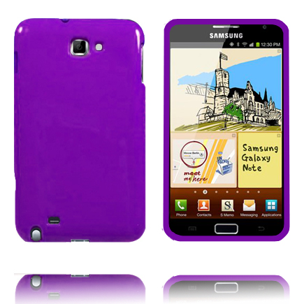 Candy Colors (Lilla) Samsung Galaxy Note Deksel