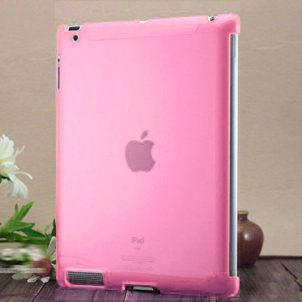 Bilde av Transparent Hard Shell (hot Rosa) Ipad 2 Deksel