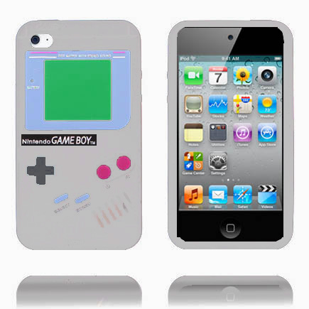 Bilde av Gameboy (grå) Ipod Touch 4 Deksel