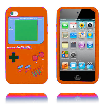 Bilde av Gameboy (oransje) Ipod Touch 4 Deksel