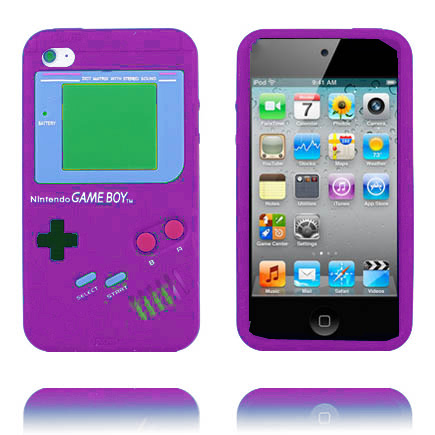 Bilde av Gameboy (lilla) Ipod Touch 4 Deksel