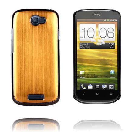 Bilde av Alloy M1 (Gull) HTC One S Deksel