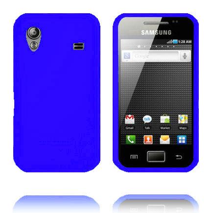 Soft Shell (Blå) Samsung Galaxy Ace Deksel