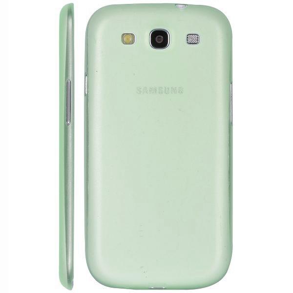 Frosty Transparent (Grønn) Samsung Galaxy S3 Deksel