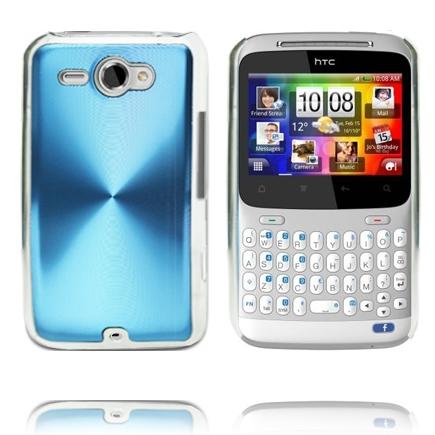 Bilde av Aluminium Shield (Blå) HTC ChaCha Deksel