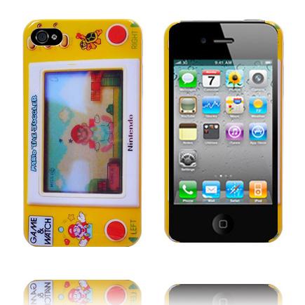 Bilde av 4s Retro Deksel (mario - Gul) Iphone 4s Deksel
