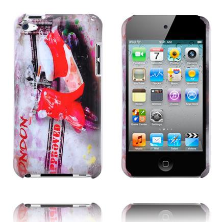 Bilde av Capital (rød Scooter) Ipod Touch 4 Deksel