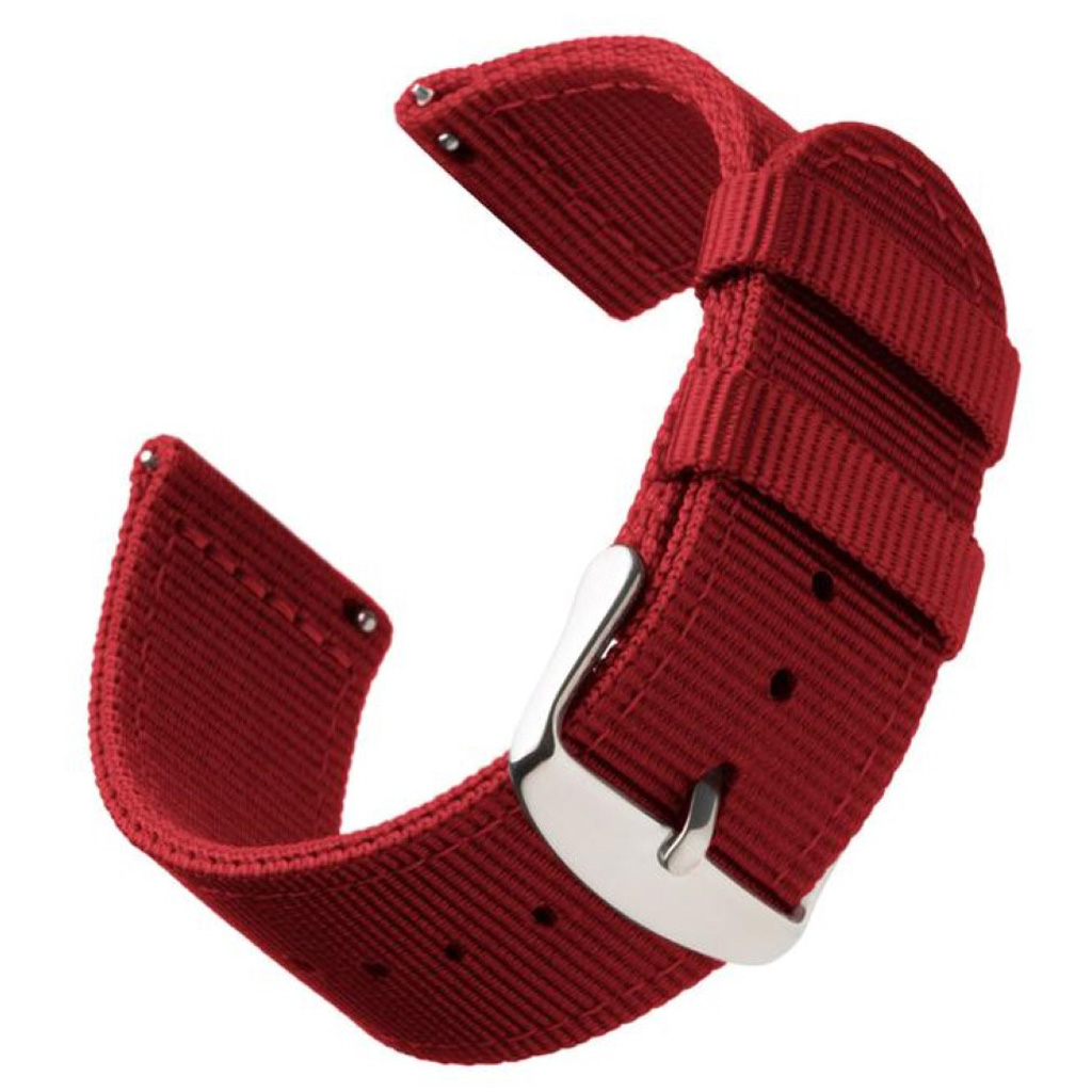 Bilde av Bofink® Nordic Nylon Strap For Amazfit Stratos - Red