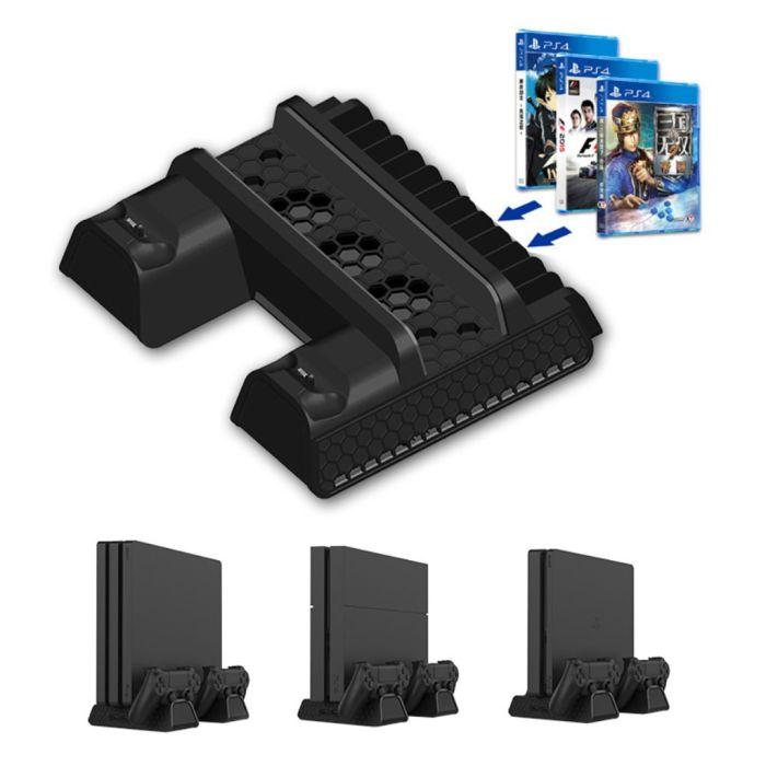 Playstation 4 Ps4 Dual Kontrolleren Laderen Og Vertikal