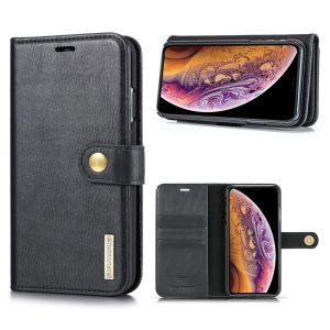 DG.Ming iPhone Xs Max 2-in-1 Lommebok Etui - Svart