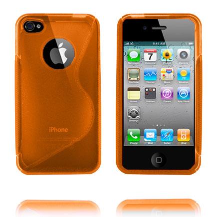 Bilde av S-line (orange) Iphone 4 Deksel