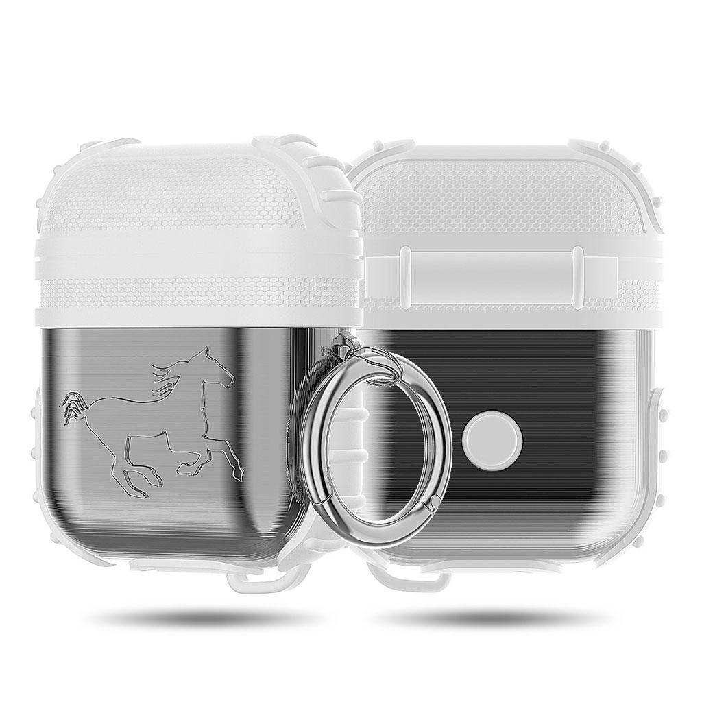 Bilde av Apple Airpods Shockproof Case - Silver / White