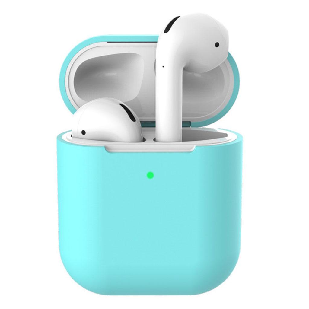 Bilde av Apple Airpods Silicone Charging Case - Cyan