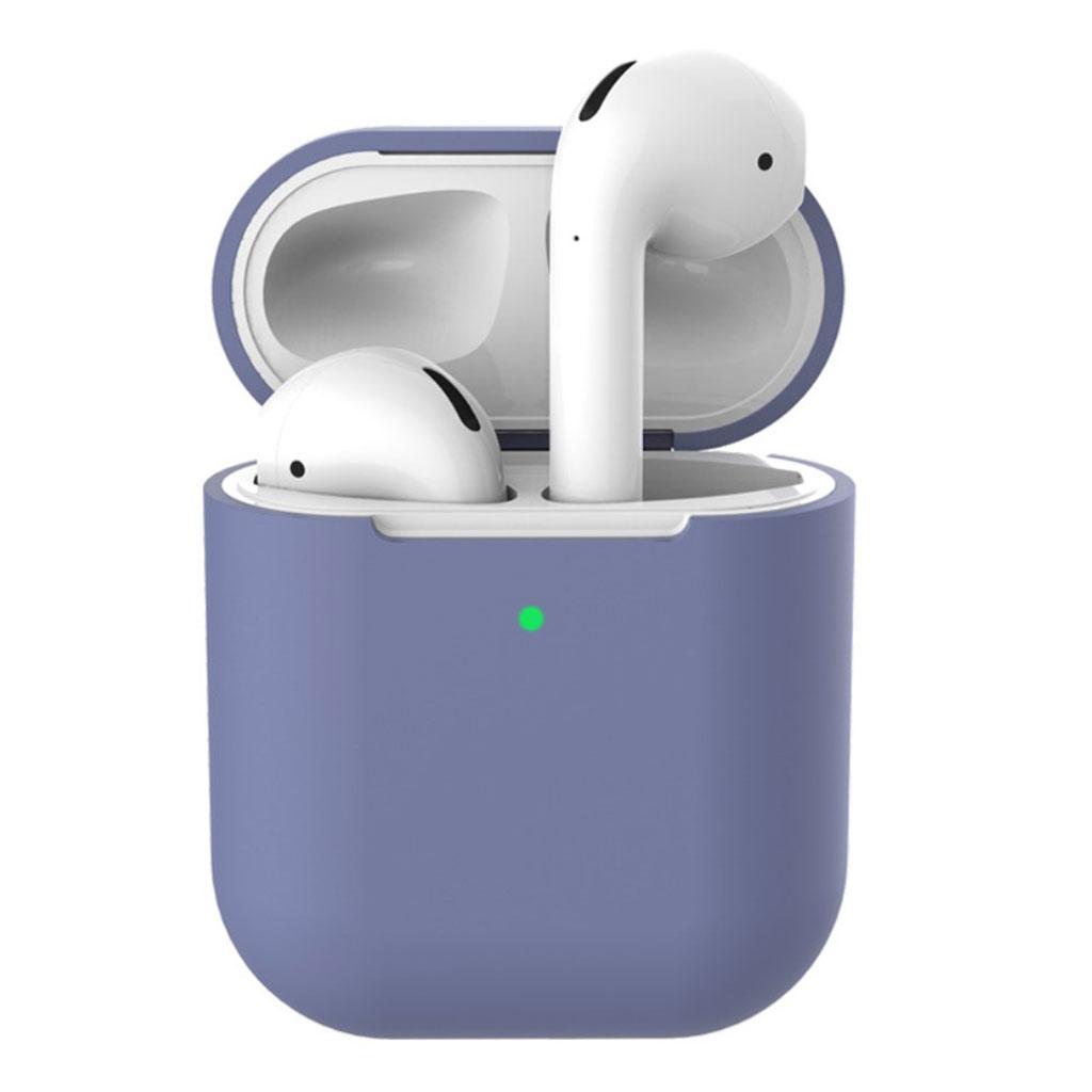 Bilde av Apple Airpods Silicone Charging Case - Dark Purple