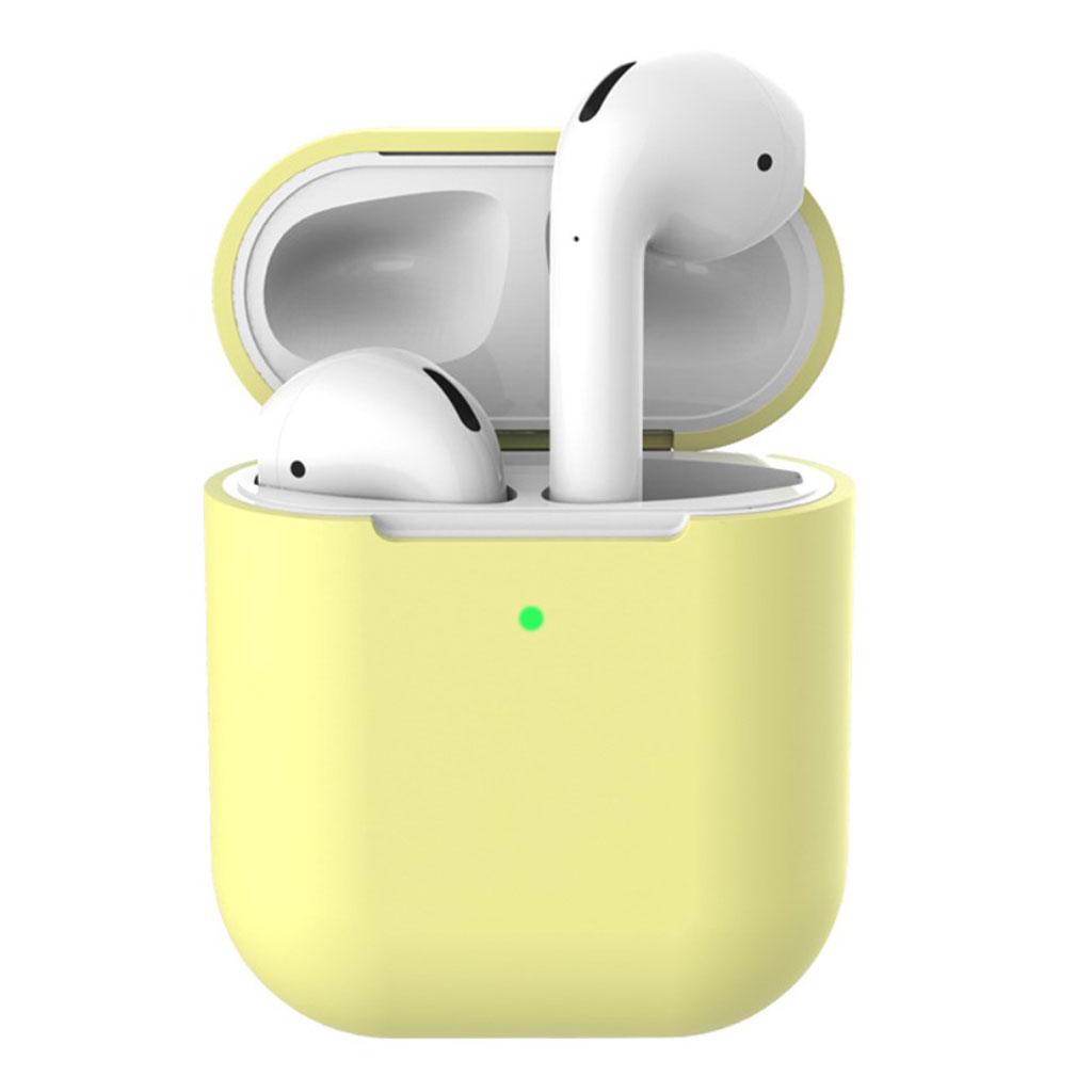 Bilde av Apple Airpods Silicone Charging Case - Yellow