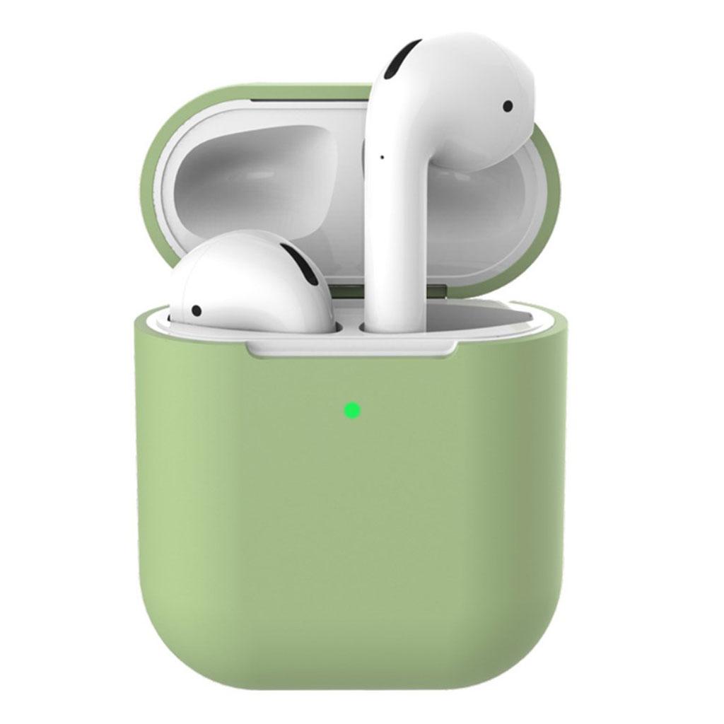 Bilde av Apple Airpods Silicone Charging Case - Light Green