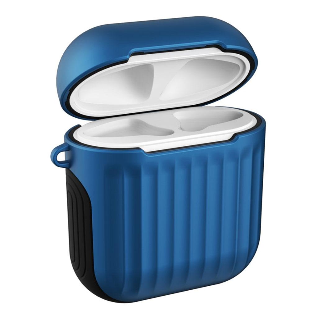 Bilde av Apple Airpods Suitcase Silicone Case - Blue