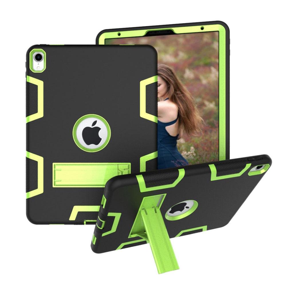 Bilde av Ipad Pro 11 Beskyttelses Deksel Av Hybrid Materiale Med To Fargers Design - Svart Og Grønn