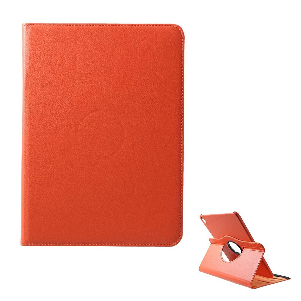 Bilde av Ipad Pro 12.9 Beskyttelses Deksel Av Syntetisk Skinn Med Litchi Tekstur - Oransj