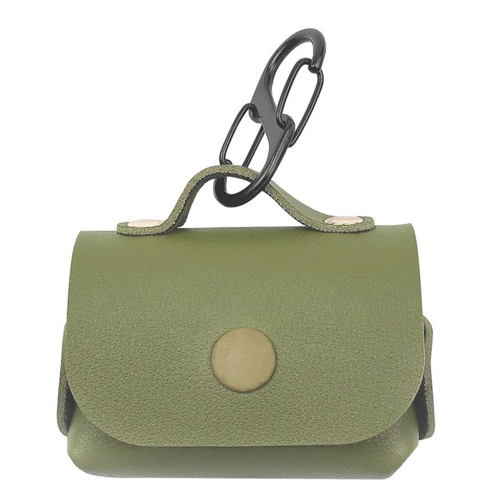 Bilde av Airpods Pro Fashionably Stilig Lærveske - Grønn