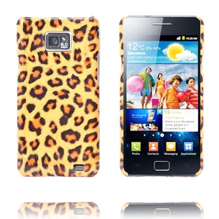 Safari Rugged (Oransje Leopard) Samsung Galaxy S2 Deksel