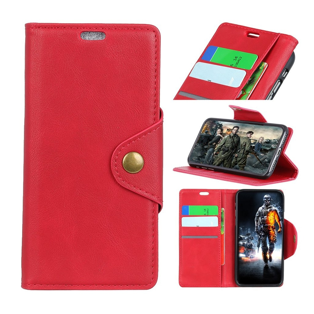 Bilde av Alpha Asus Zenfone Max (m2) Flip Case - Red