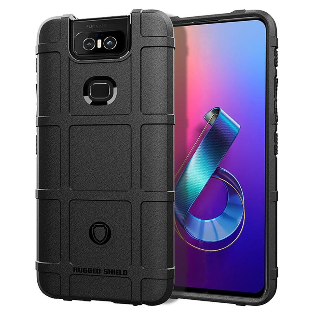 Bilde av Rugged Shield Asus Zenfone 6 Zs630kl Case - Black
