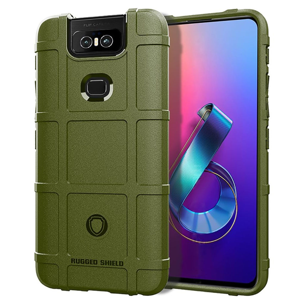 Bilde av Rugged Shield Asus Zenfone 6 Zs630kl Case - Green