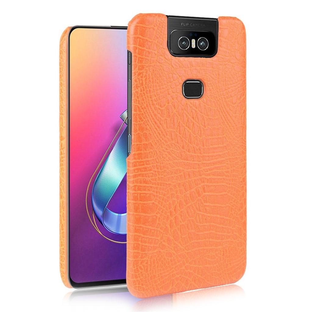 Bilde av Croco Asus Zenfone 6 Zs630kl Case - Orange