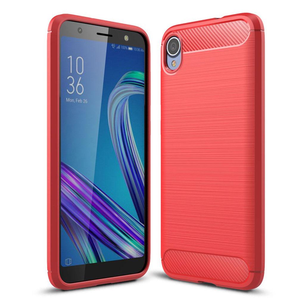 Bilde av Carbon Flex Asus Zenfone Live L1 Case - Red