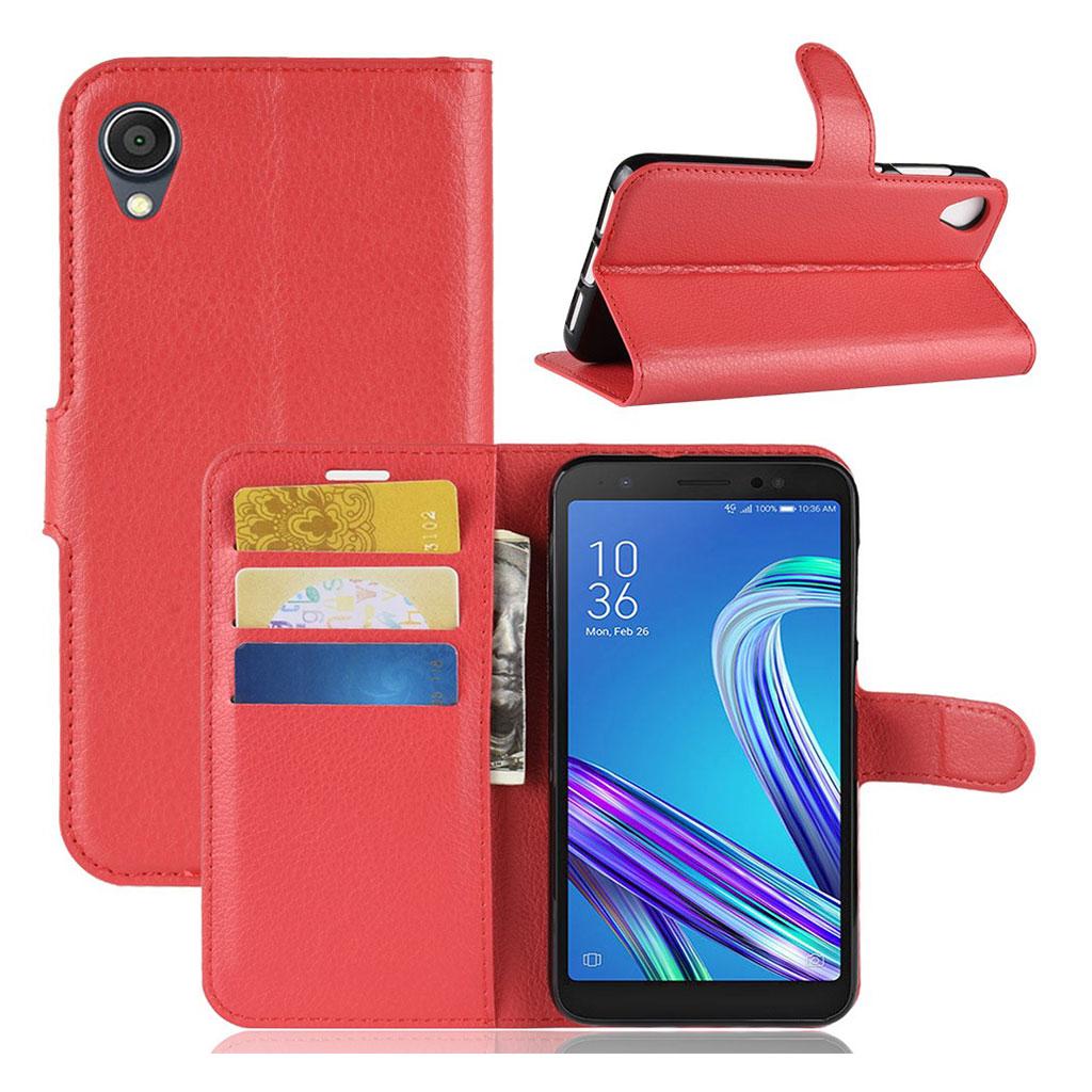 Bilde av Alpha Asus Zenfone Live L1 Flip Case - Red