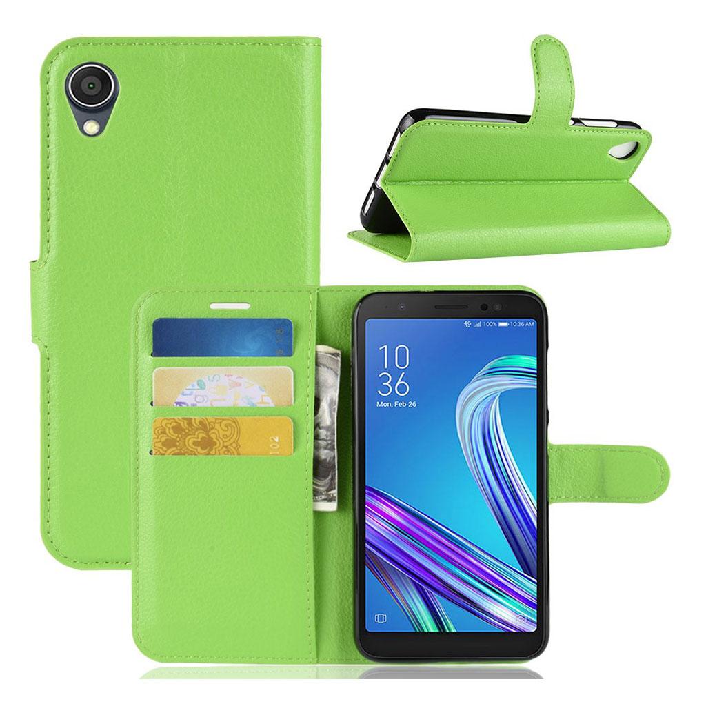 Bilde av Alpha Asus Zenfone Live L1 Flip Case - Green