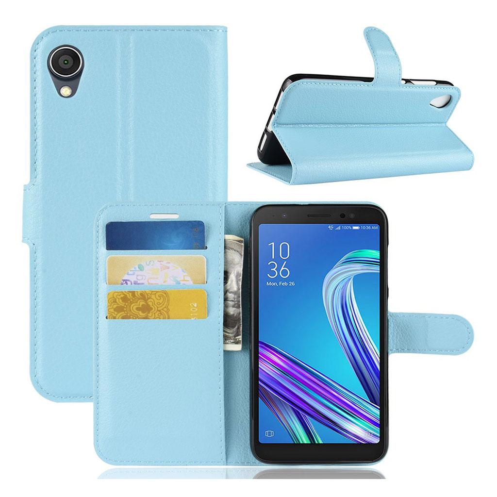 Bilde av Alpha Asus Zenfone Live L1 Flip Case - Blue