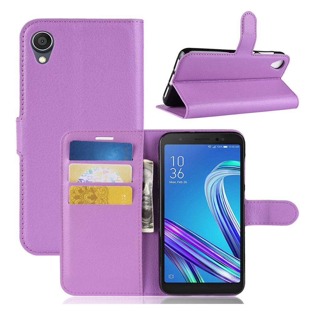 Bilde av Alpha Asus Zenfone Live L1 Flip Case - Purple