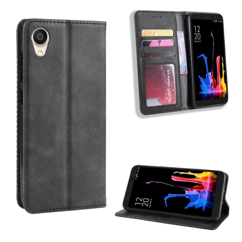 Bilde av Bofink Vintage Asus Zenfone Live L1 Leather Case - Black