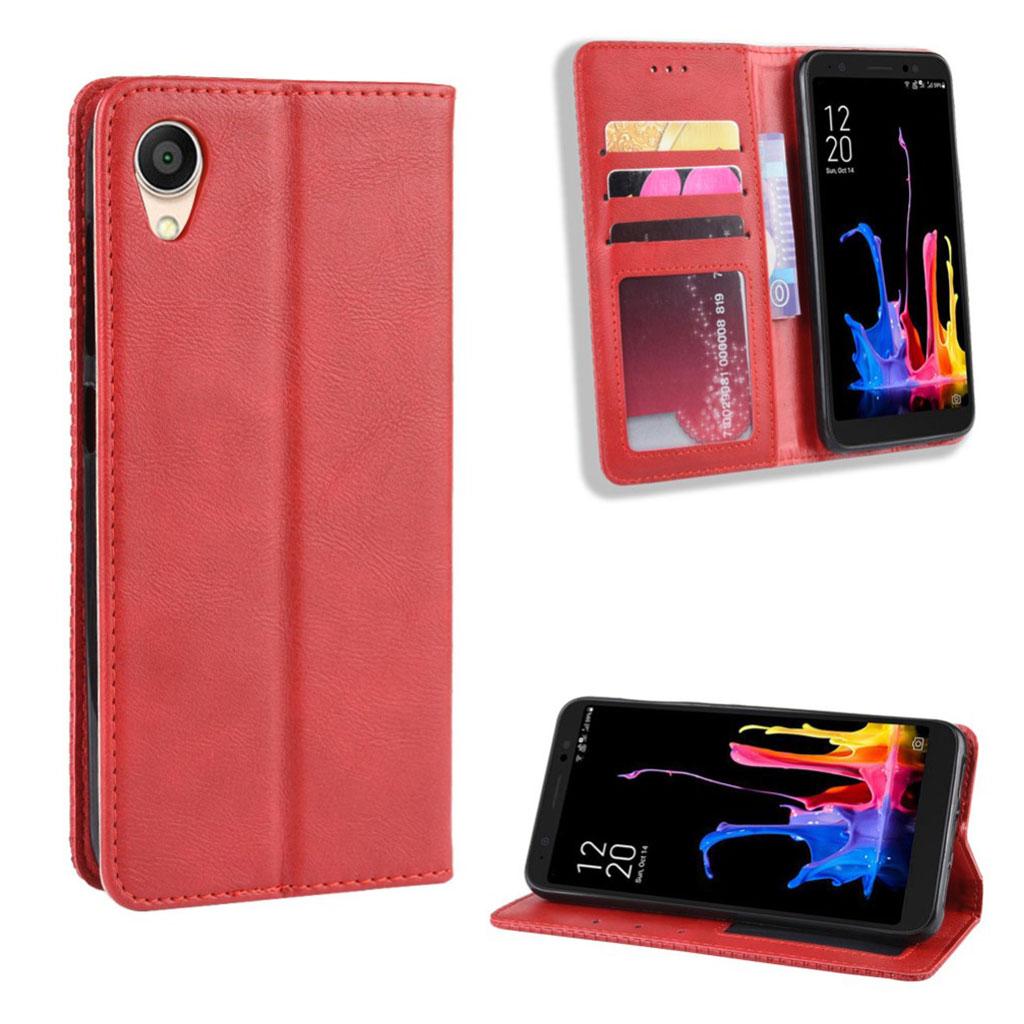 Bilde av Bofink Vintage Asus Zenfone Live L1 Leather Case - Red