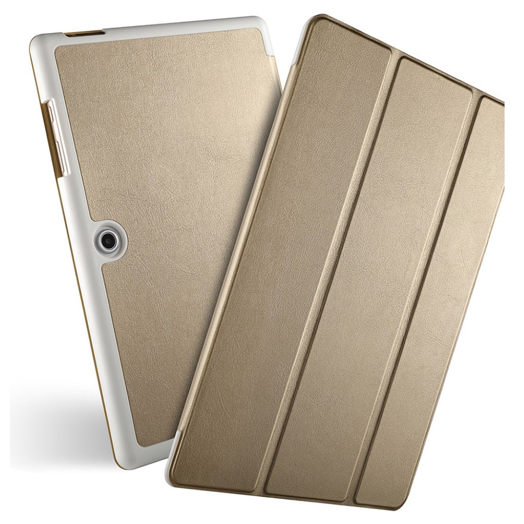 Bilde av Acer Iconia One 10 - B3-a50 Tri-fold Leather Case - Gold
