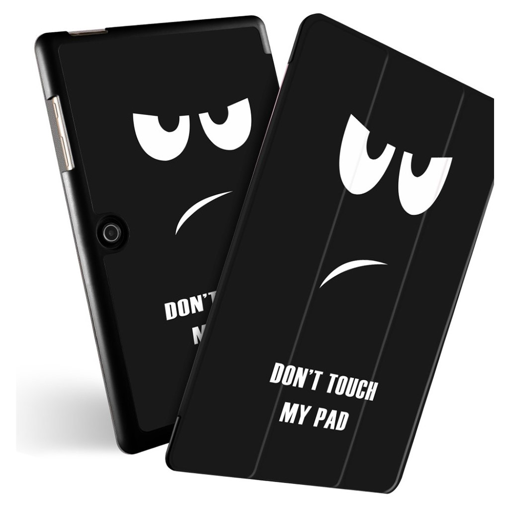 Bilde av Acer Iconia One 10 - B3-a50 Pattern Leather Case - Don't Touch My Pad