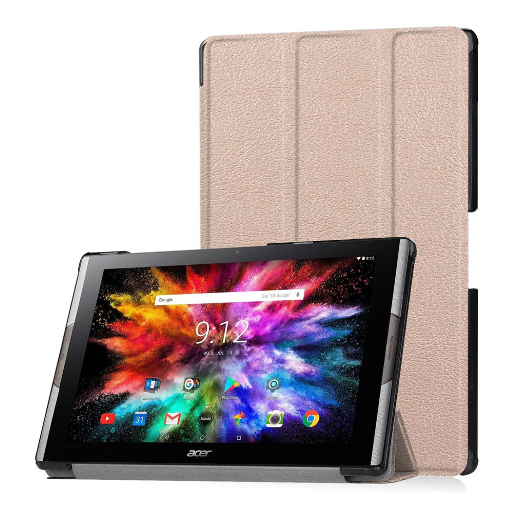 Bilde av Acer Iconia One 10 A3-a50 Tri-fold Leather Case - Rose Gold