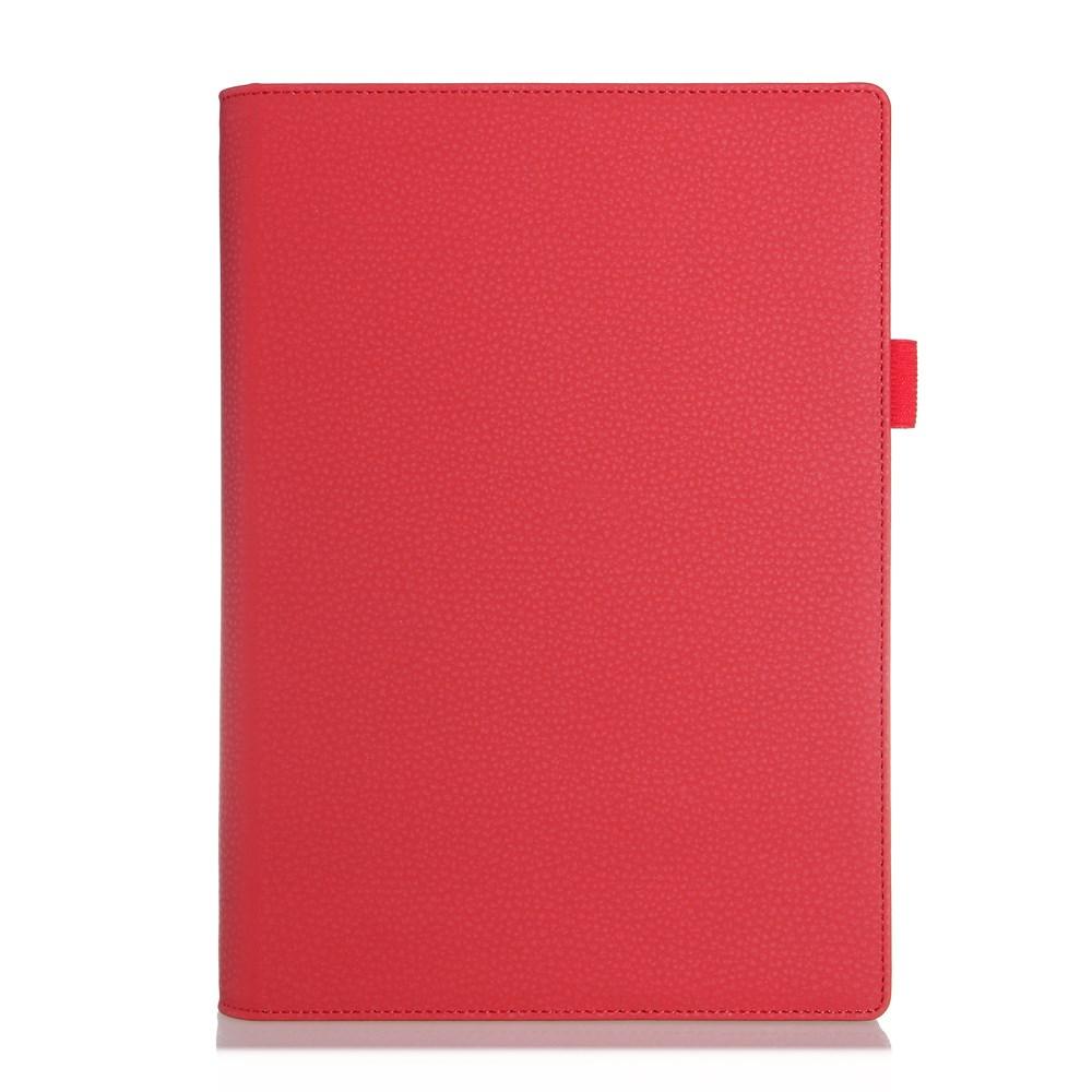 Bernhoft Lenovo Yoga Tablet 2 10.1 Lær Flipp Etui - Rød