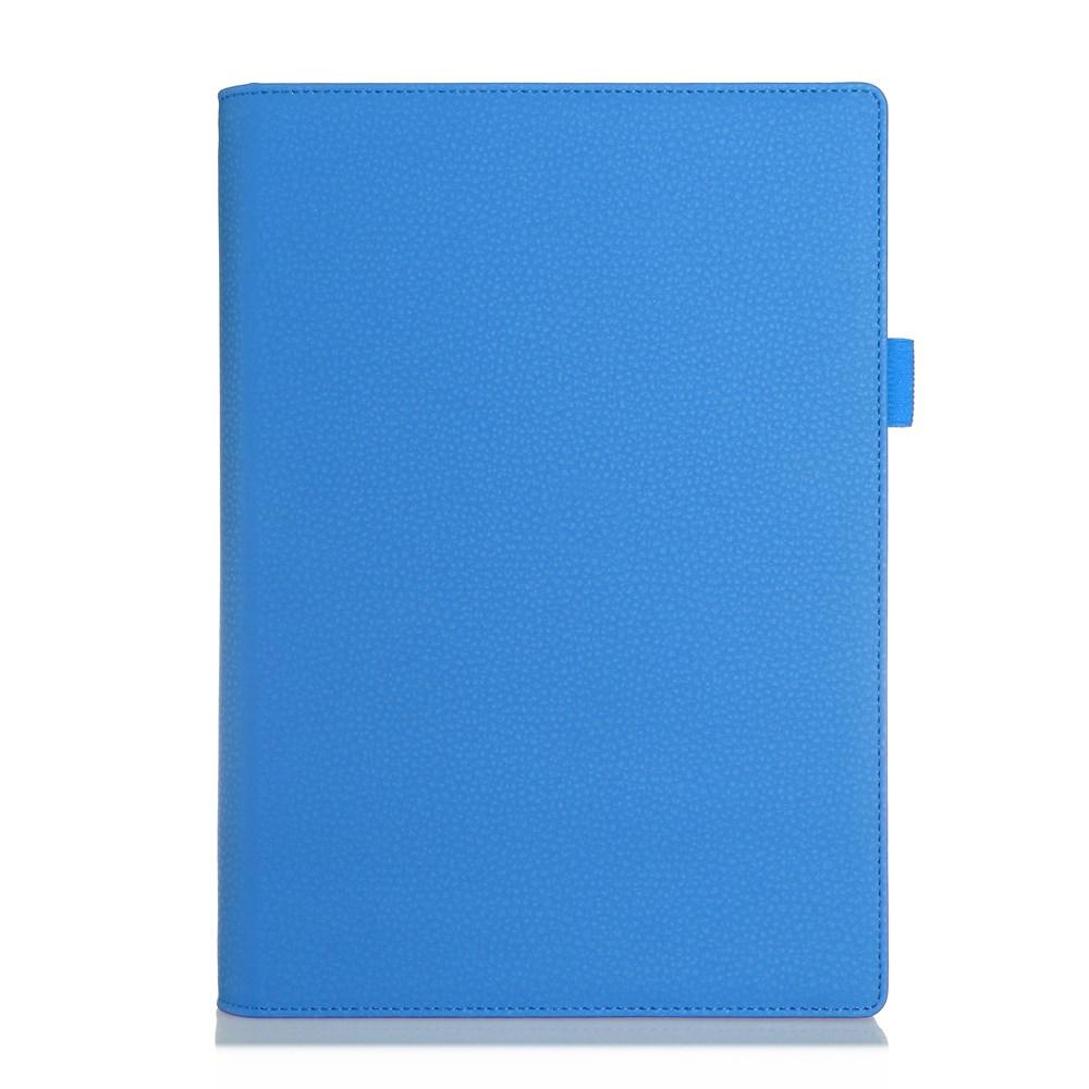 Bernhoft Lenovo Yoga Tablet 2 10.1 Lær Flipp Etui - Blå