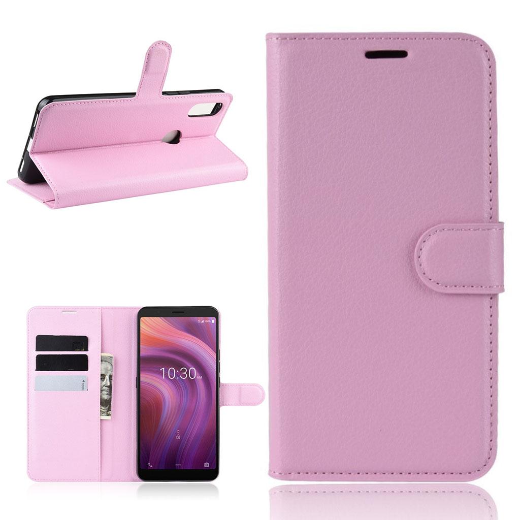 Bilde av Classic Alcatel 3v (2019) Flip Case - Pink