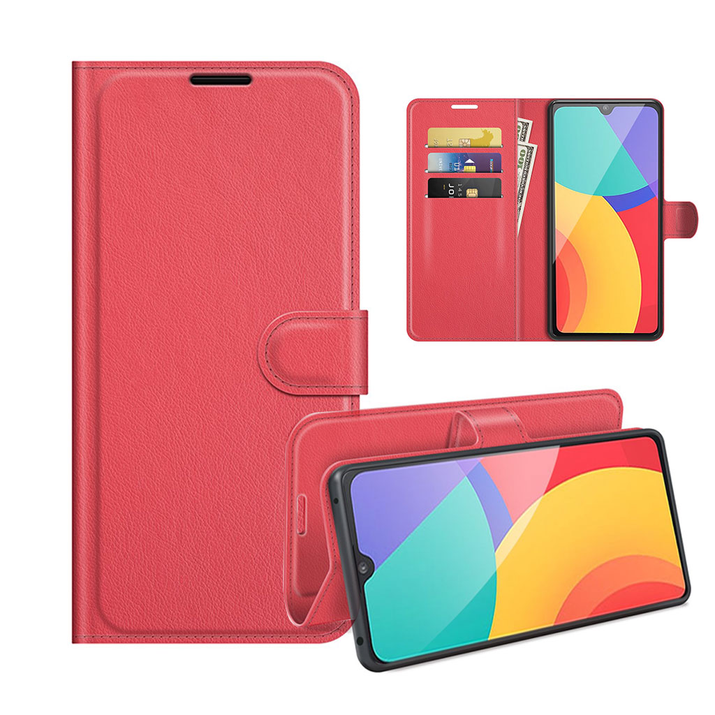 Bilde av Classic Alcatel 1l (2021) Flip Case - Red