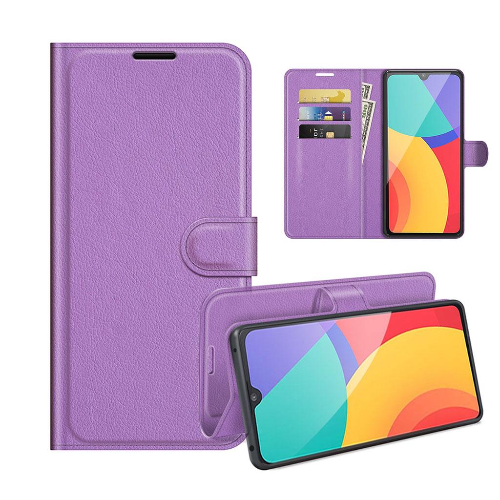 Bilde av Classic Alcatel 1l (2021) Flip Case - Purple