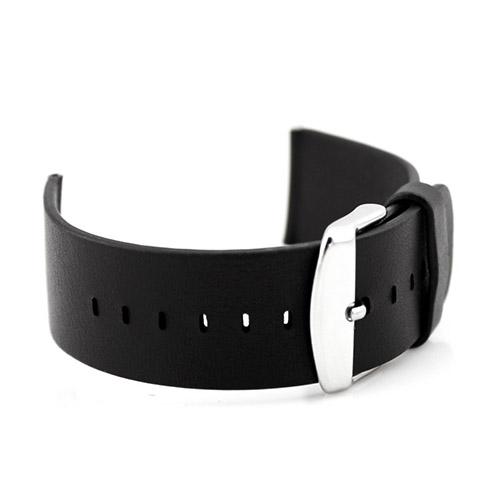 Ekte Lær Armbånd For Apple Watch 38mm - Sort