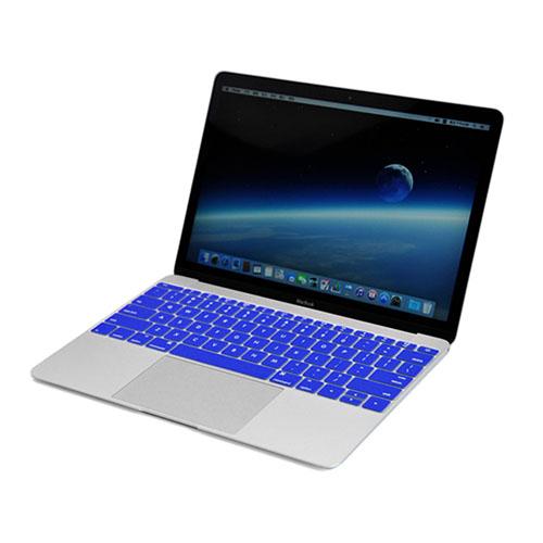 Bilde av Enkay Macbook 12-inch (2015) Retina Display Silikon Keyboard Film - Mørk Blå