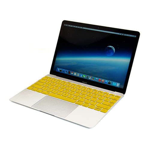 Bilde av Enkay Macbook 12-inch (2015) Retina Display Silikon Keyboard Film - Gul