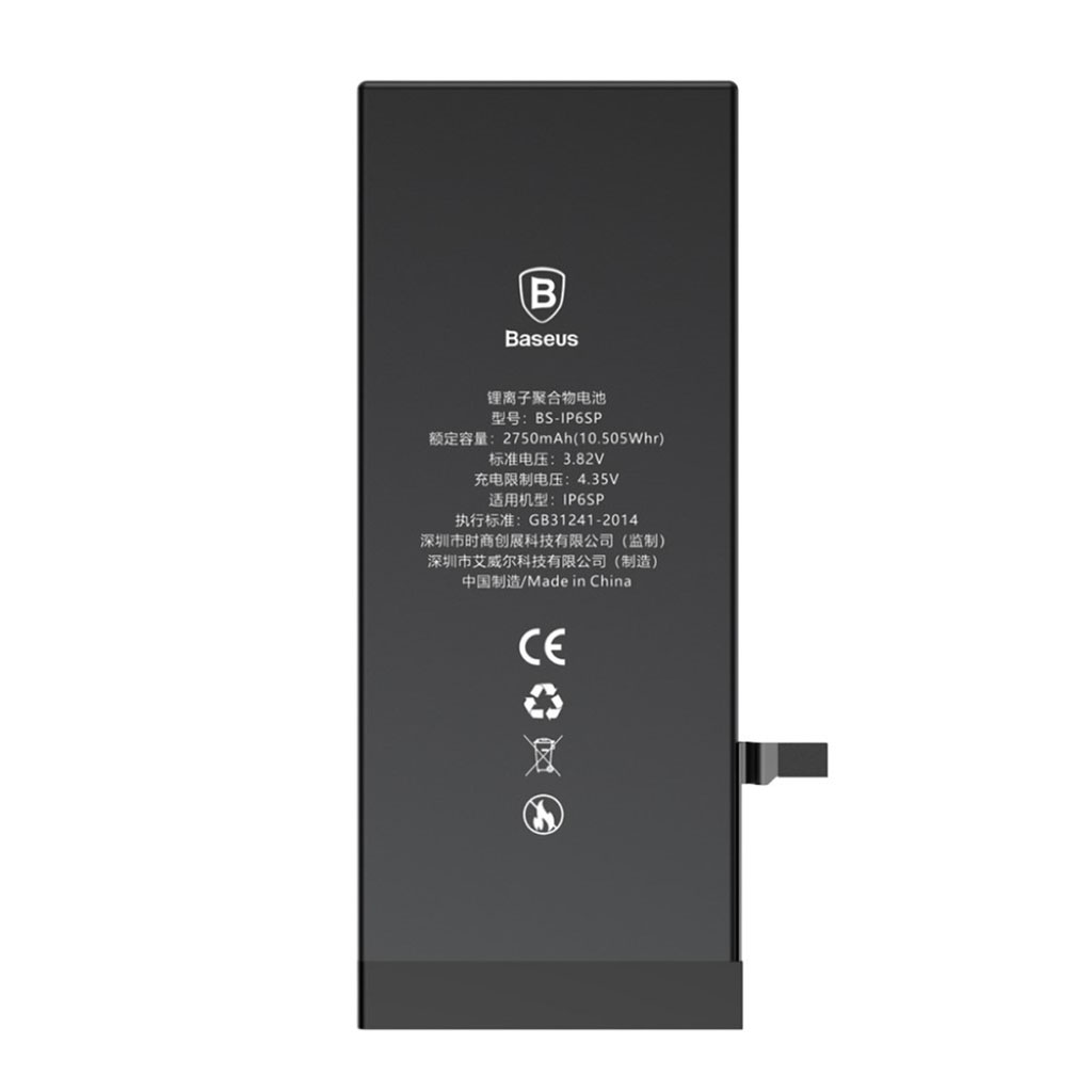 Bilde av Baseus Iphone 6 Plus Batteri 2750mah - Svart