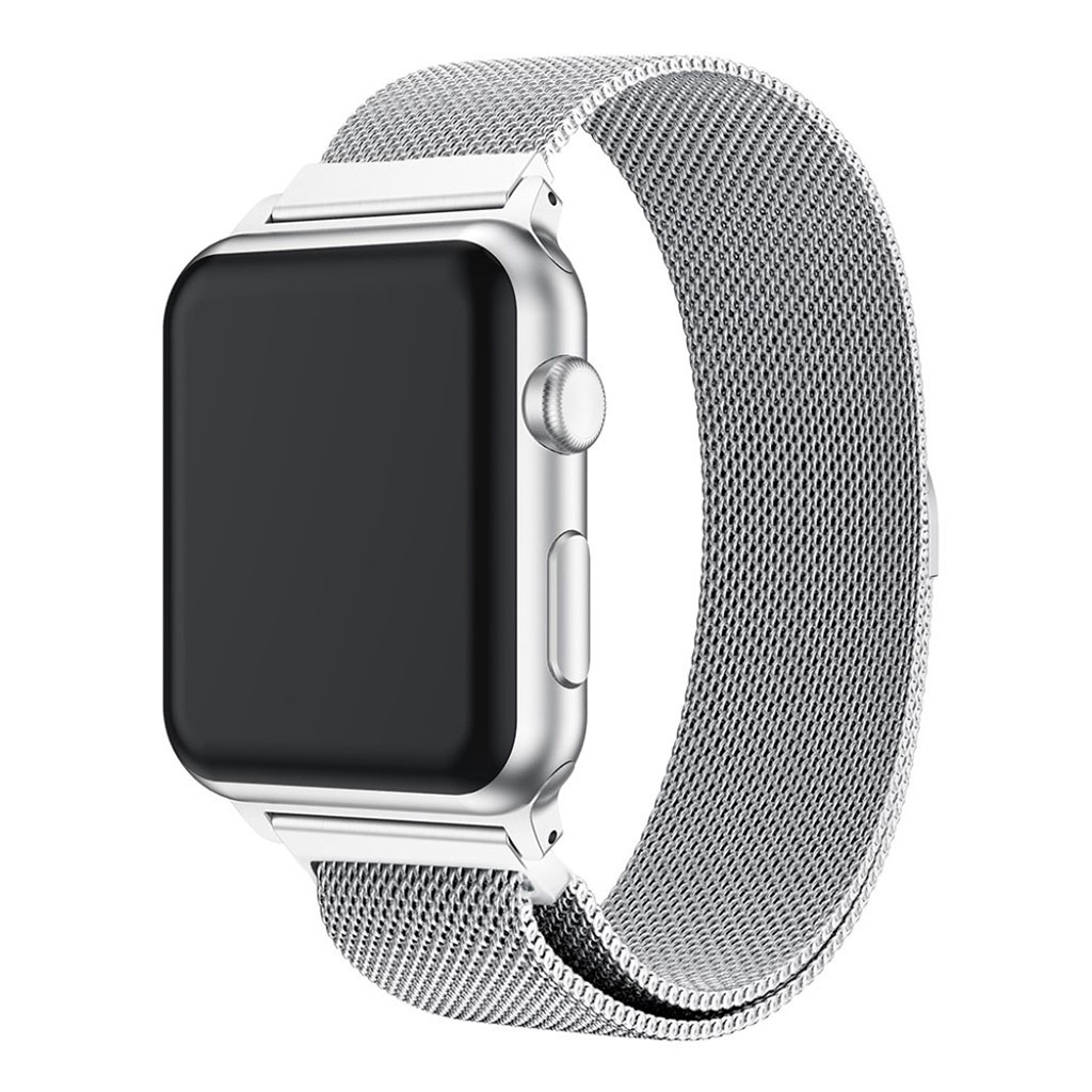 Bilde av Apple Watch 38mm Milanese Stainless Steel Watch Band - Silver