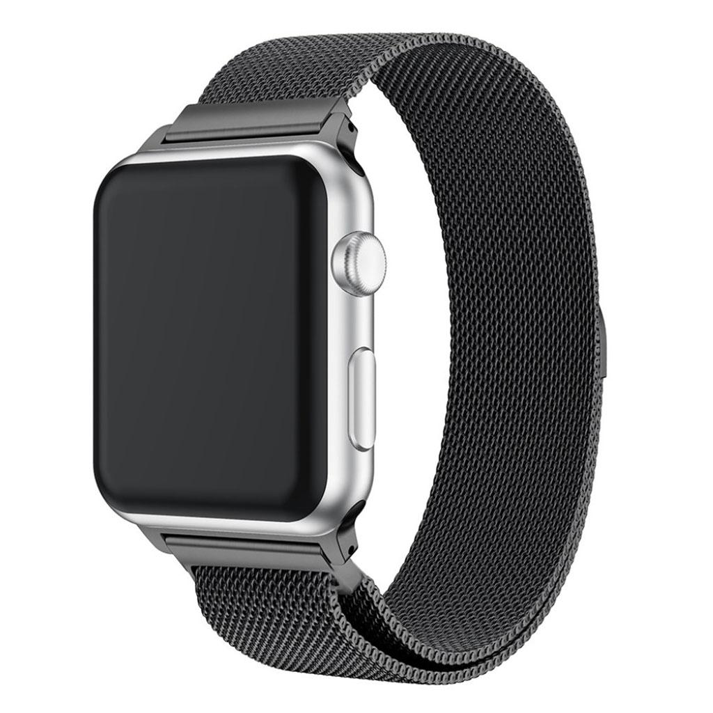 Bilde av Apple Watch 38mm Unique Stainless Steel Watch Band - Black